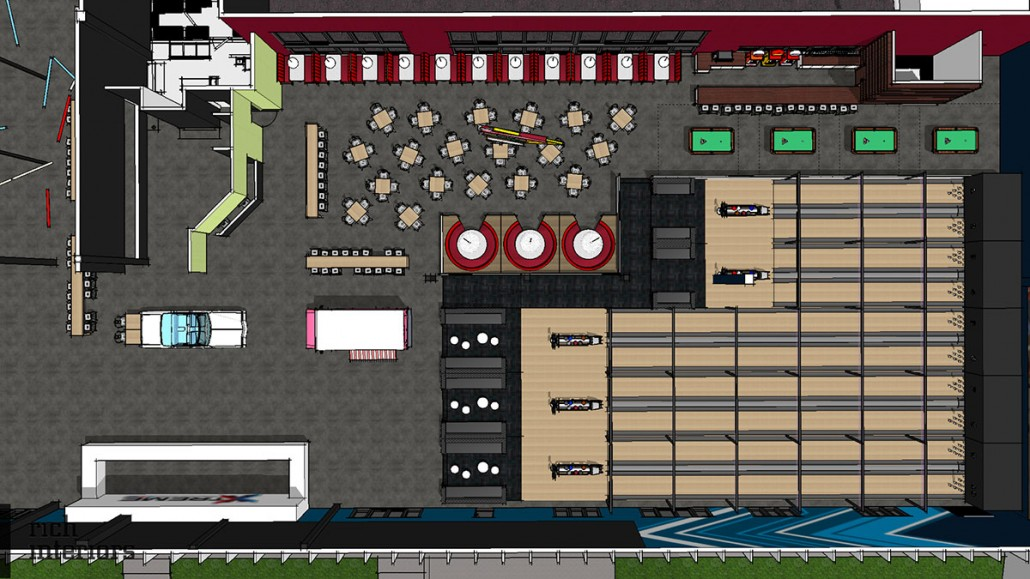 xtreme action park family entertainment center floor plan layout