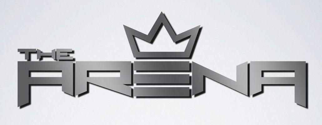 Xtreme Action Park roller skating rink The Arena logo branding design