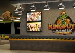 king putt family entertainment center CAD 3D rendering