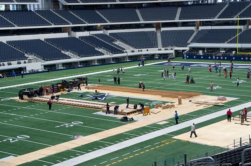 Trade Shows Amp Event Installations Dallas Cowboys Stadium
