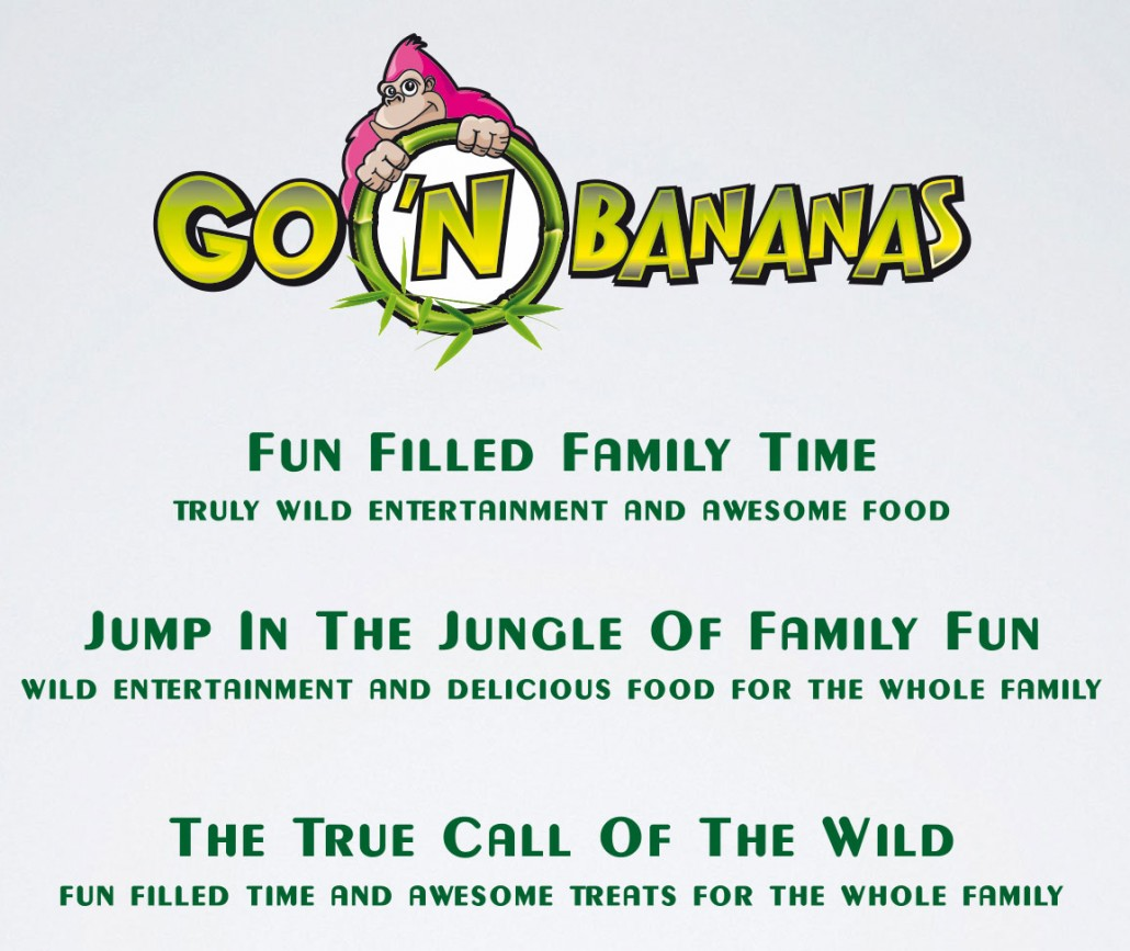 GO 'N BANANAS Family Entertainment Center | US Design Lab portfolio