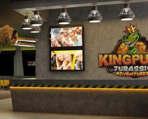 family entertainment center concept design